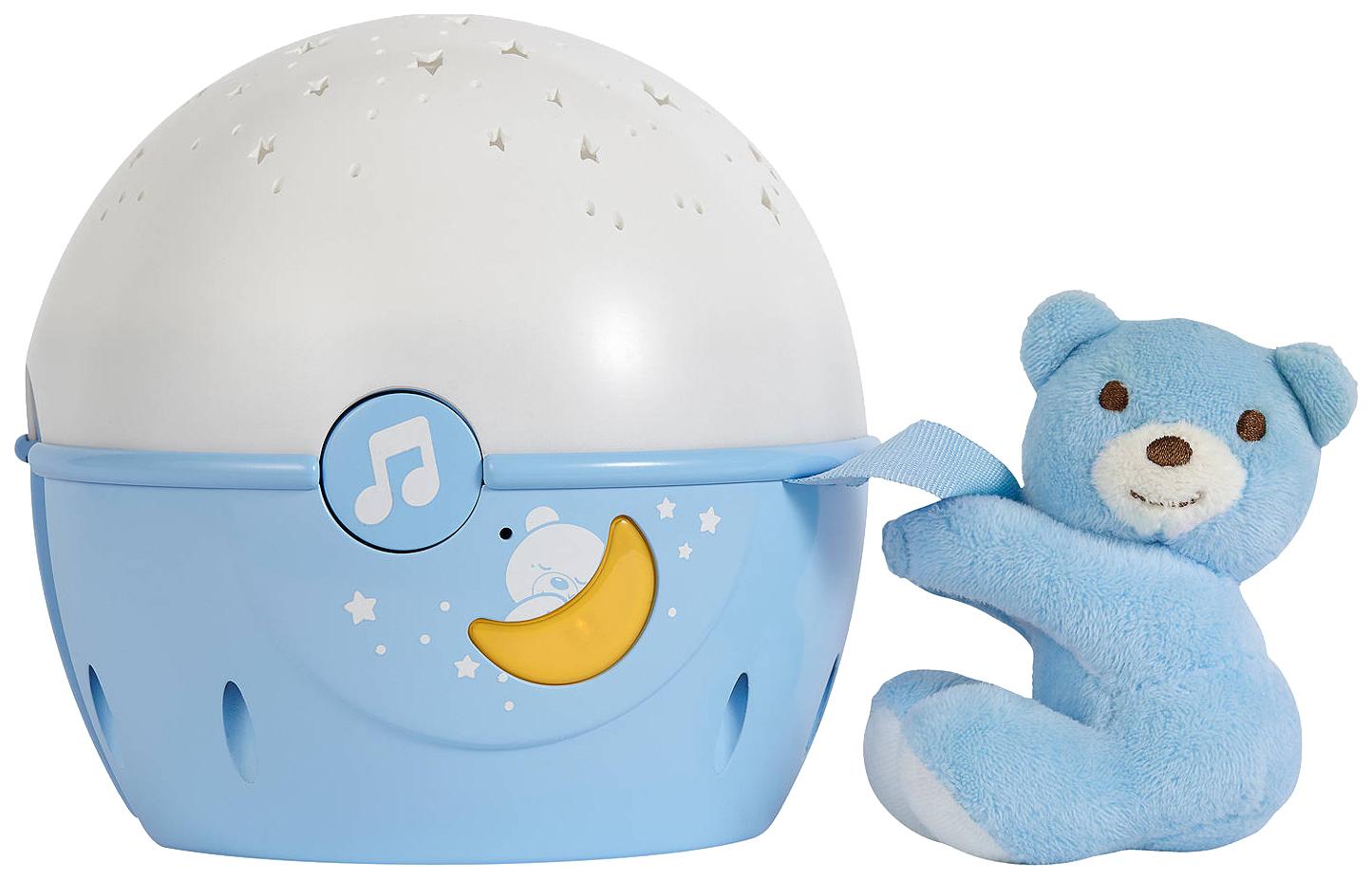 Светильник-проектор Chicco Next 2 Stars голубой