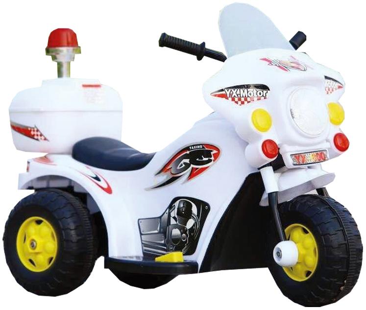 Купить Электромотоцикл YX-991 белый, NoBrand, Электромотоциклы детские