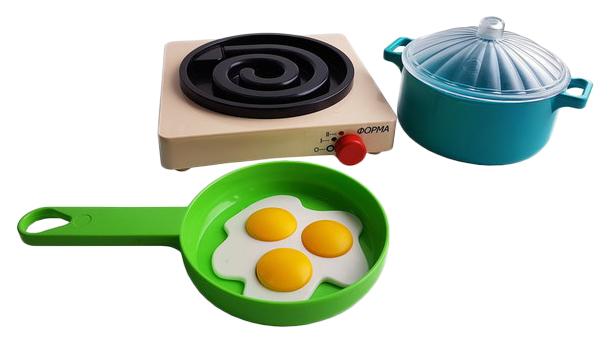 Купить Набор посуды игрушечный ПК Форма Летний С-189-Ф, Игрушечная посуда