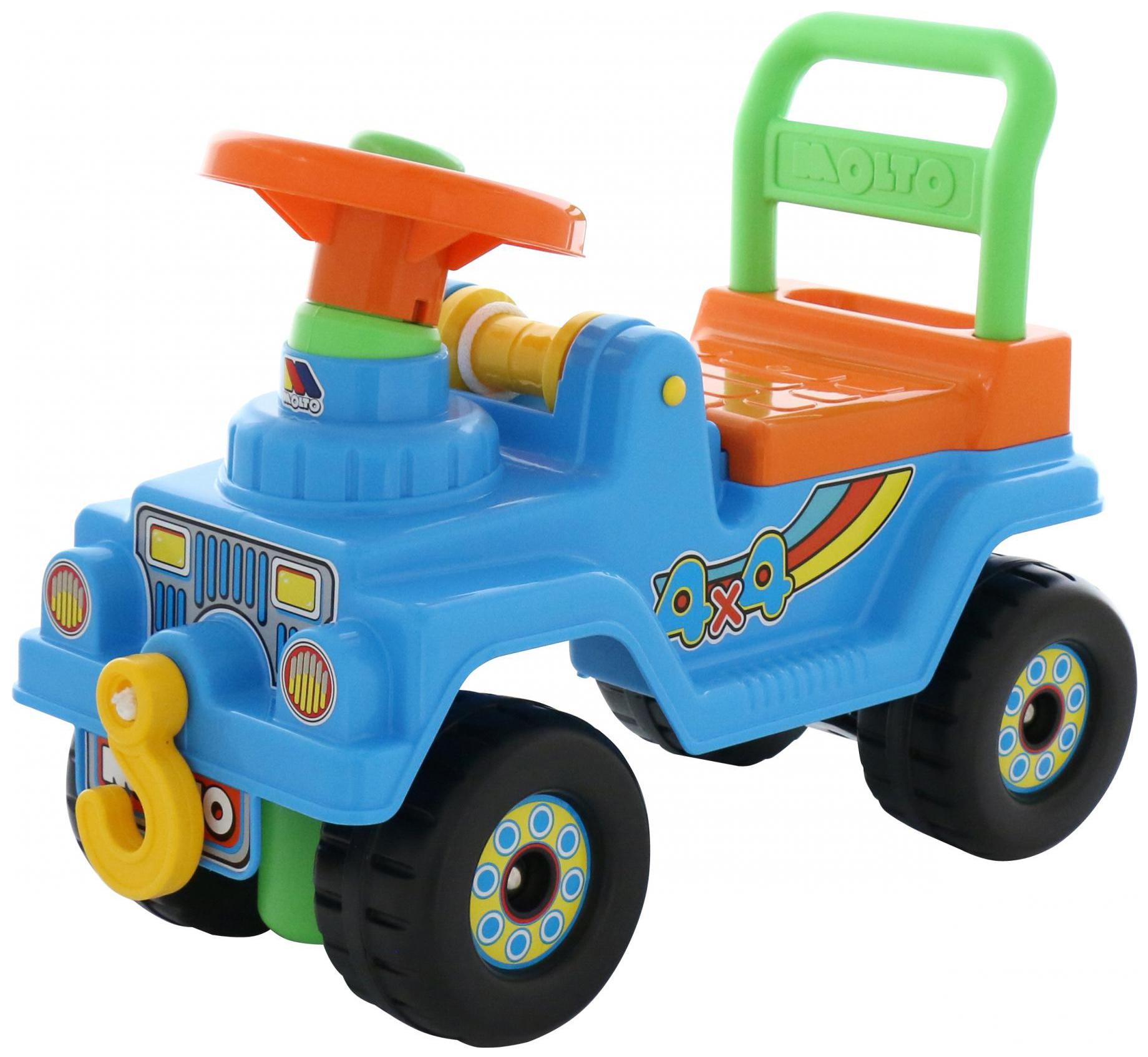Машина-каталка Полесье Джип 4х4 62819 Голубой
