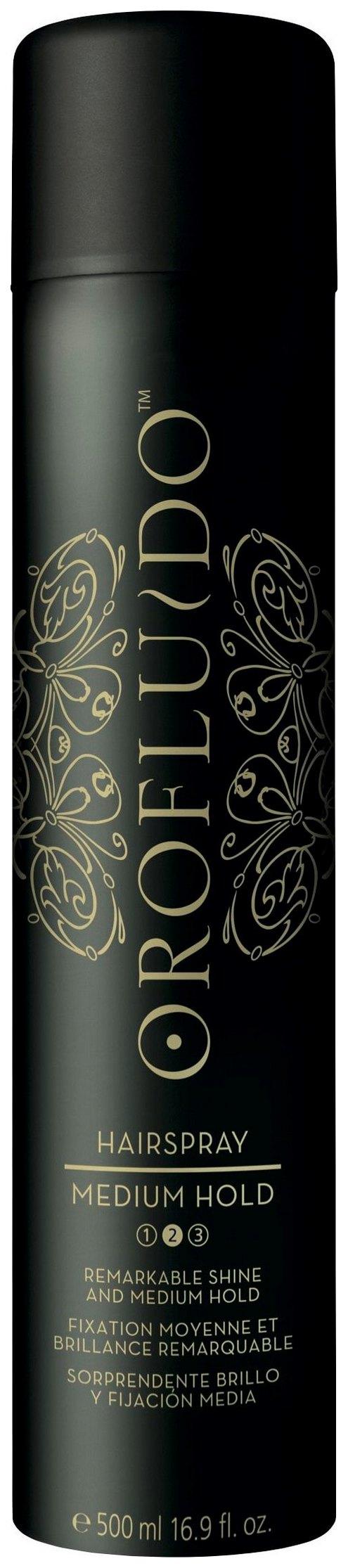 Лак для волос Orofluido Medium Hairspray Hold 500 мл