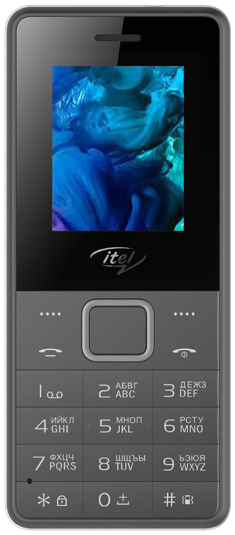 Мобильный телефон Itel IT2160 Deep Grey фото