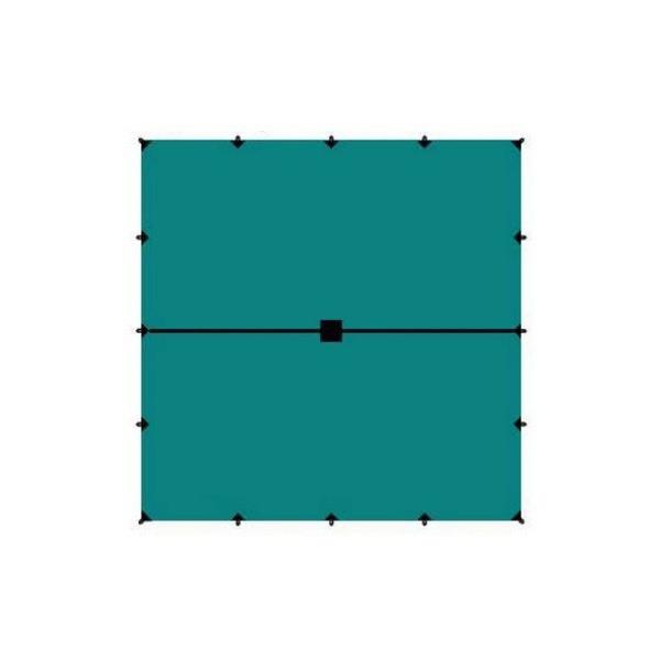 Тент Tramp TRT-103.04 голубой/черный