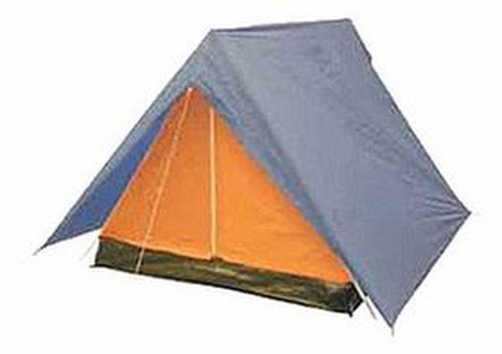 Палатка Kaiser Sport Sport Delta четырехместная синяя/оранжевая