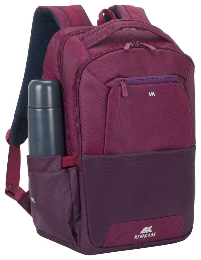 Рюкзак для ноутбука RIVACASE Suzuka 7767 Бордово-фиолетовый/Пурпурный 15,6\