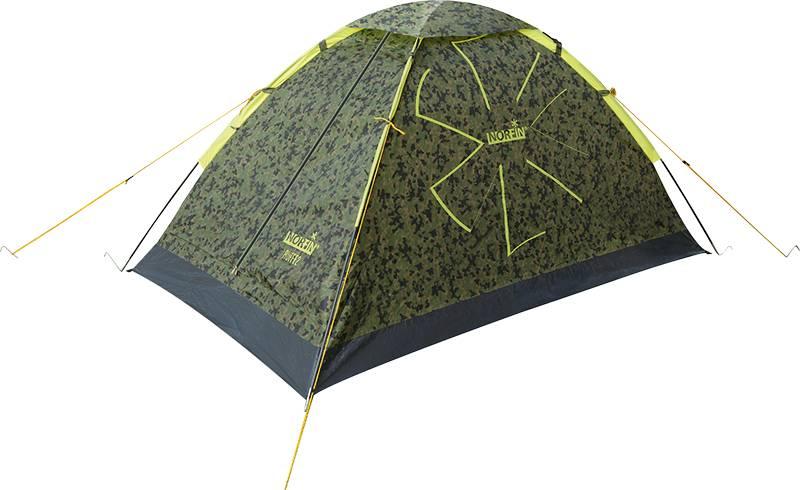 Палатка Norfin Ruffe NC двухместная зеленая