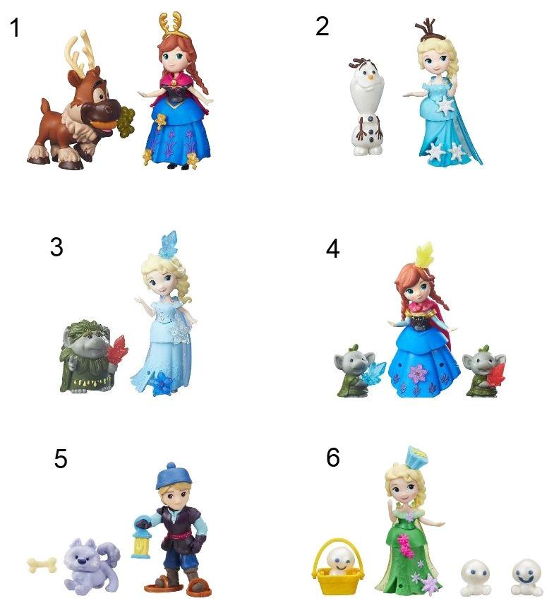 Купить Игровой набор Hasbro Холодное сердце в ассортименте, Disney Frozen, Классические куклы