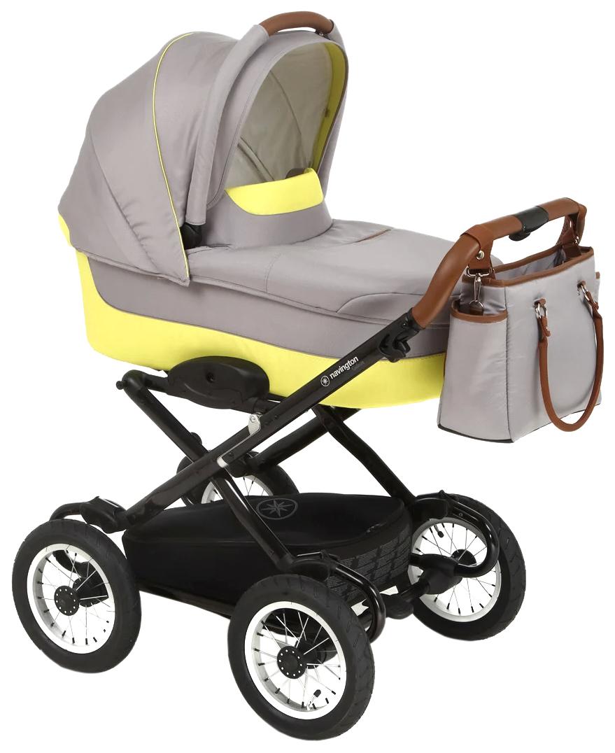 Купить Galeon 12, Коляска классическая Deltim Navington Galeon Ibiza, колеса 12 W-WDZ02-00651, Коляски для новорожденных