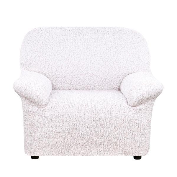 Чехол на кресло Еврочехол Тела Пианта молочный