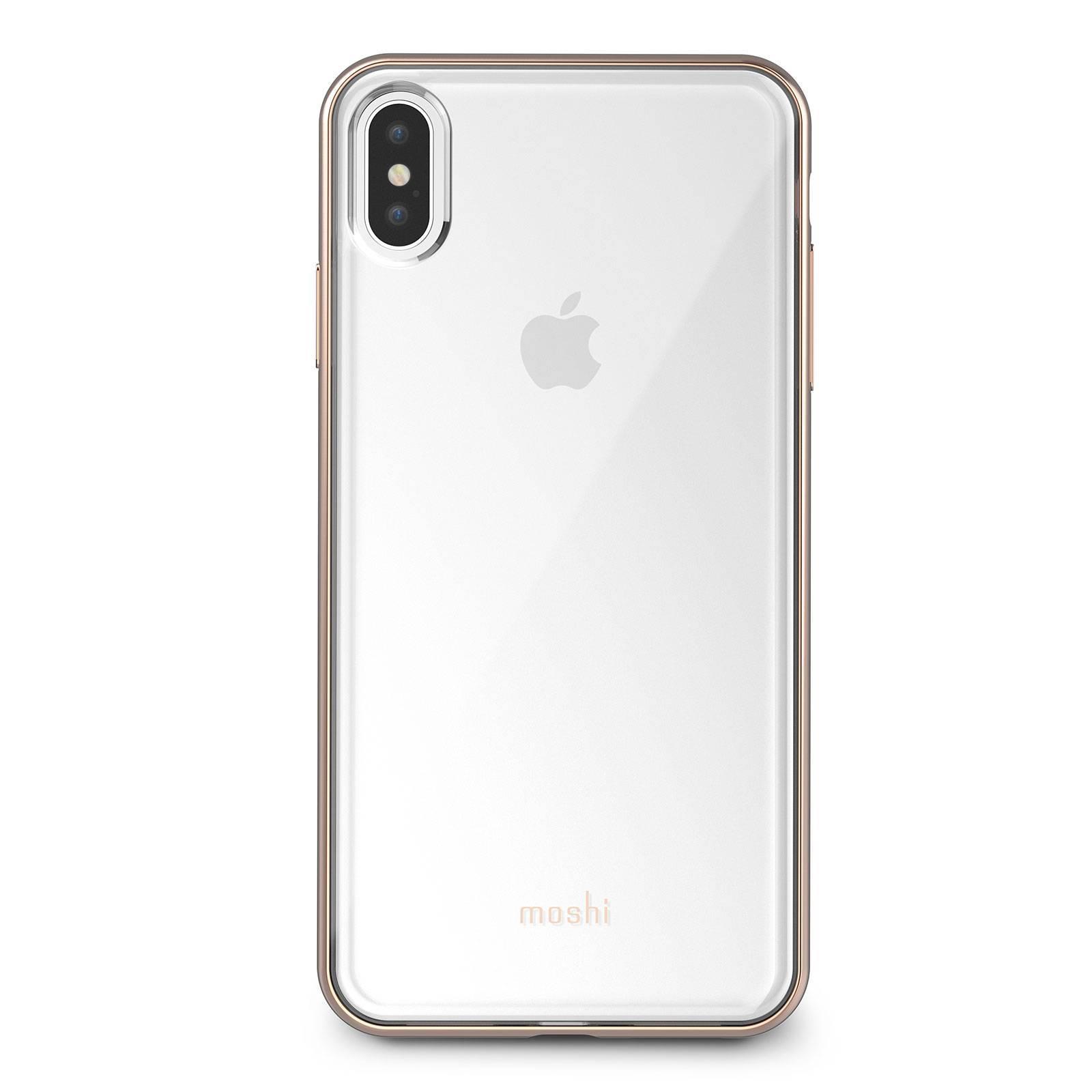 Клип-кейсMoshi VitrosдляiPhone XS MaxGold (99MO103302)