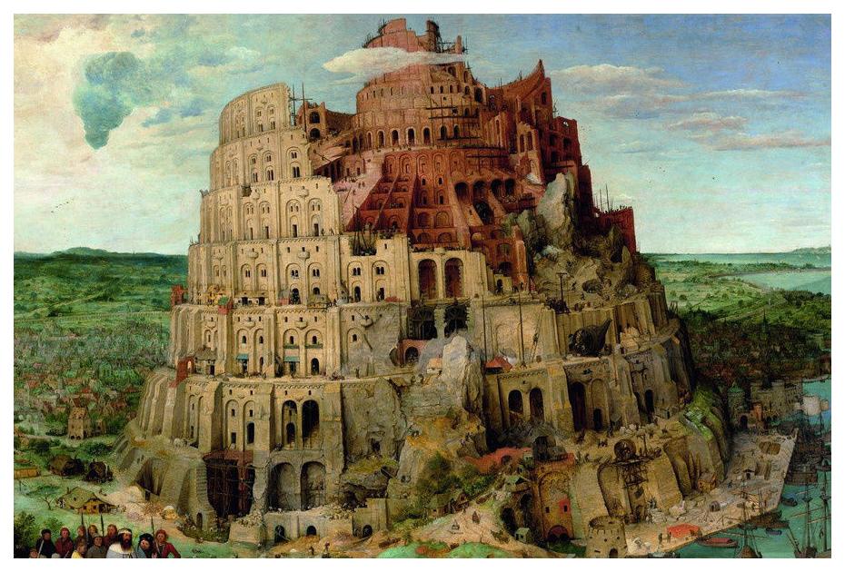 Пазлы Piatnik Питер Брейгель Вавилонская башня 1000 элементов