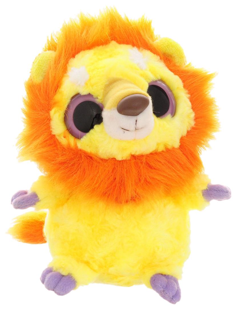 Купить Мягкая игрушка Aurora Юху и его друзья 65-215 Лев, 20 см, Мягкие игрушки животные