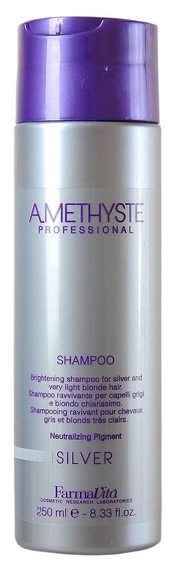 Купить Шампунь для светлых и седых волос FarmaVita Amethyste Silver Shampoo 250 мл