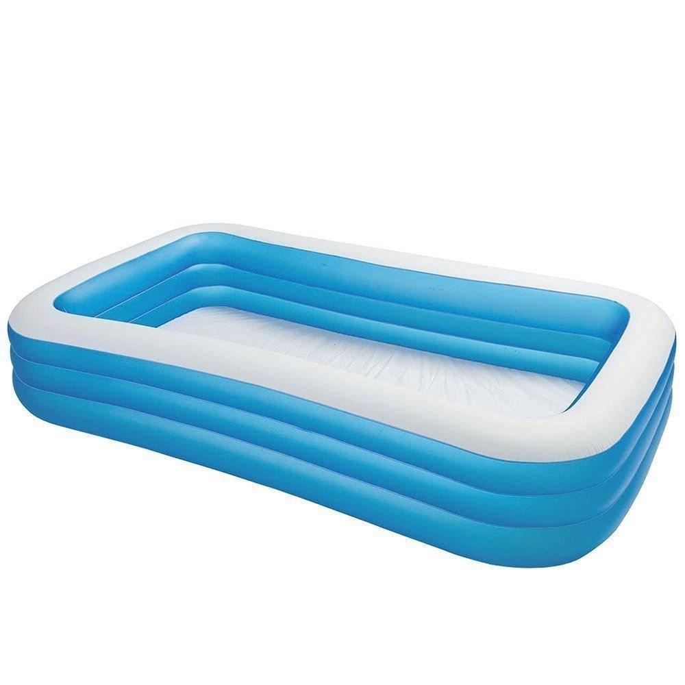 Купить Бассейн надувной INTEX Jumbo Family Pool 58484, Детские бассейны