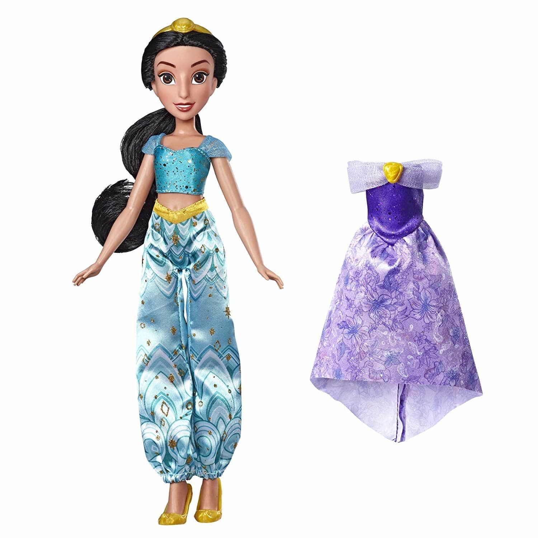 Купить Кукла Disney Princess Жасмин Дисней с набором одежды E4589, Классические куклы