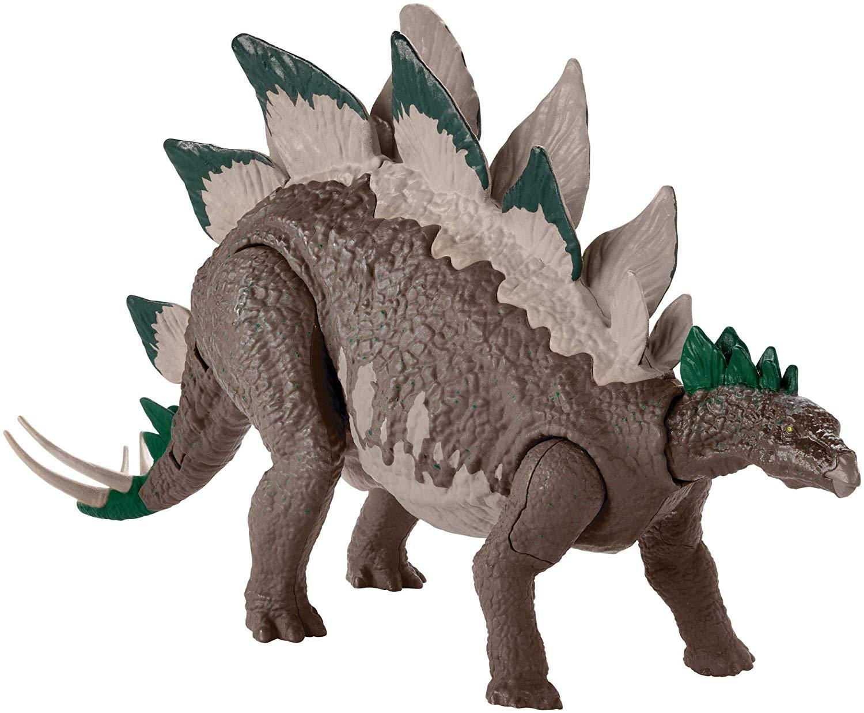 Фигурка динозавра Jurassic World Стегозавр - Двойной удар фото