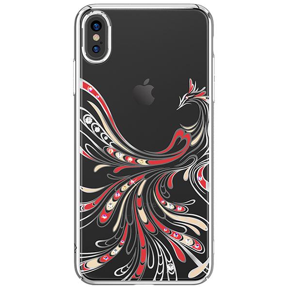 Чехол Kingxbar с Swarovski Flying Series для Apple iPhone Xs Max фото