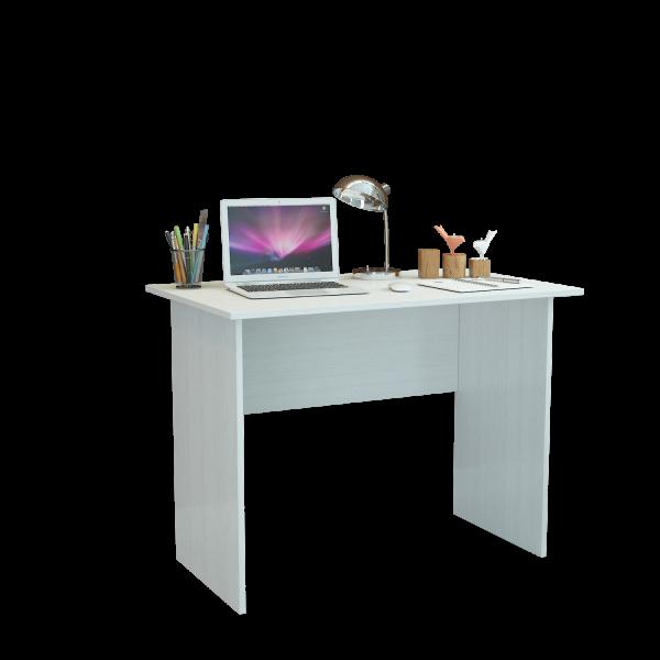 Компьютерный стол МФ Мастер Милан-106 МСТ-СДМ-16-БТ-16 100x60x75, белый