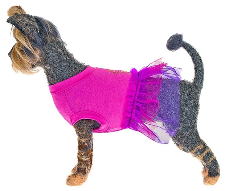 Платье для собак Happy Puppy Айседор розовый XL.