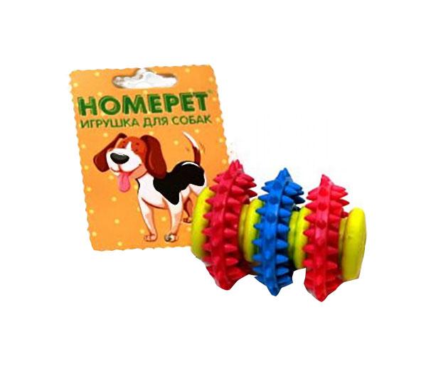 Жевательная игрушка для собак HOMEPET мяч регби,