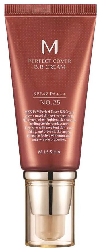BB средство Missha M Perfect Cover No.25