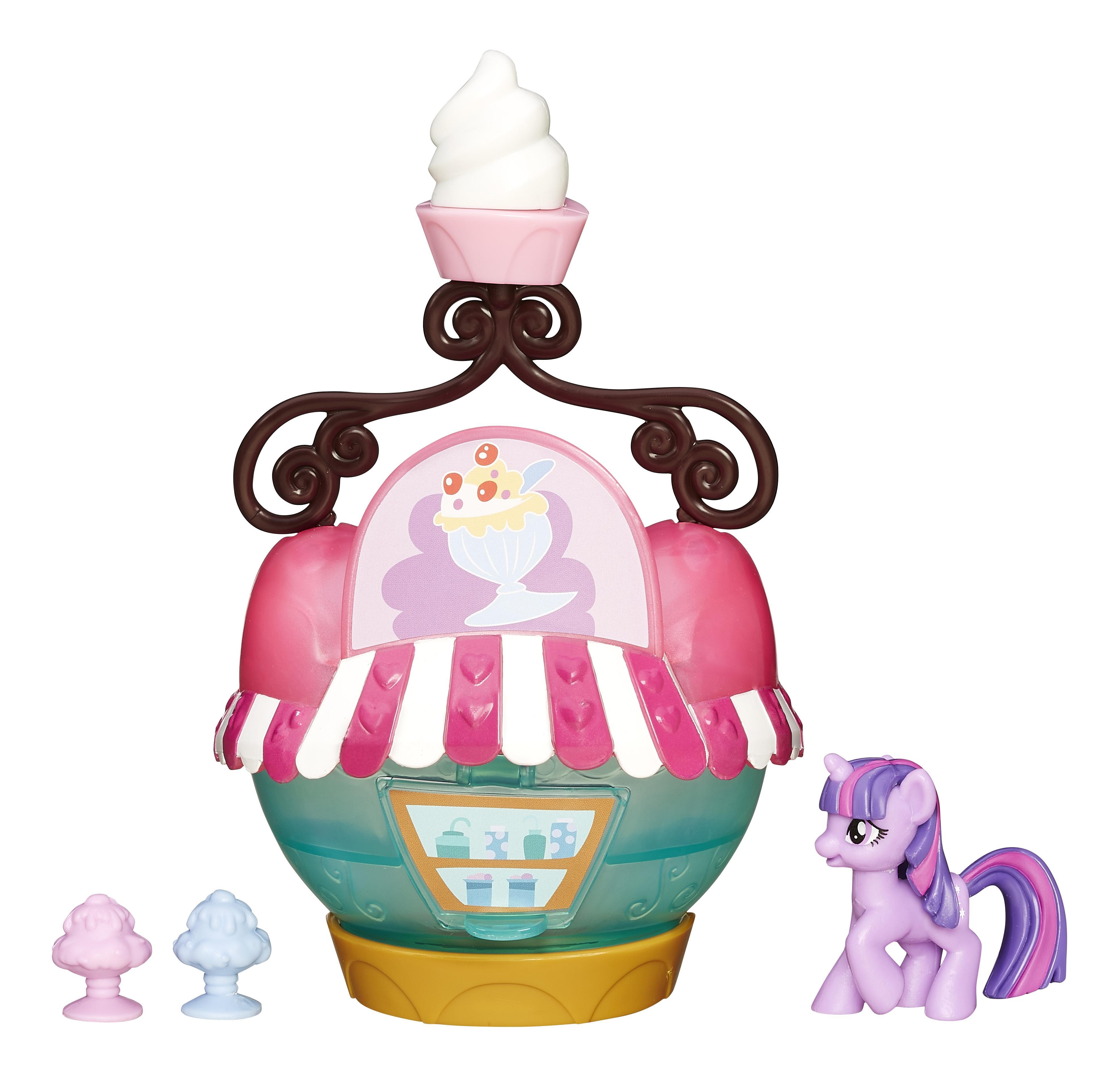 Купить Mlp коллекционный мини игровой набор пони b3597 b5568, My little Pony, Игровые наборы