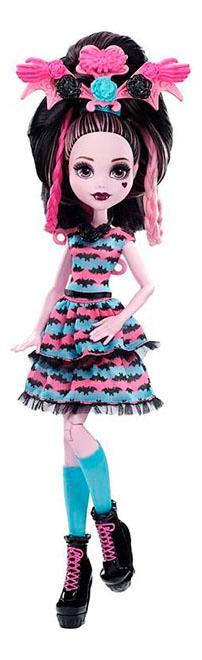 Купить Кукла Monster High стильные прически Дракулауры, Куклы Monster High