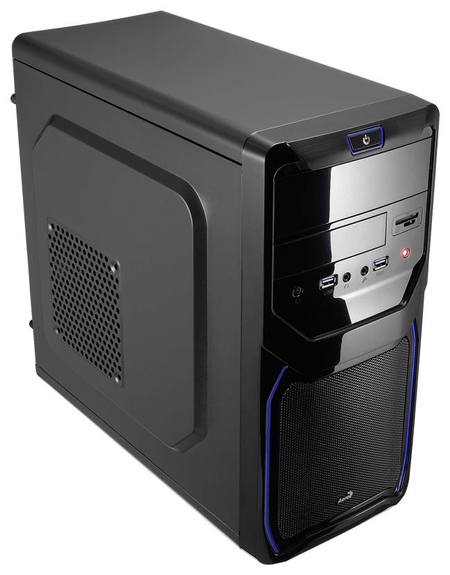 Компьютерный корпус AeroCool QS 183 Advance Blue