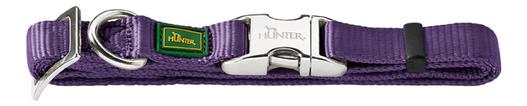 Ошейник HUNTER ALU-Strong S,15 фиолетовый