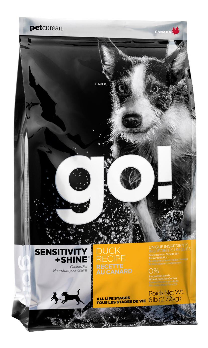 GO  SENSITIVITY + SHINE DUCK DOG RECIPE