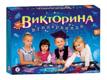 Купить Семейная настольная игра Дрофа Викторина вундеркинда 2580, Дрофа-Медиа, Семейные настольные игры