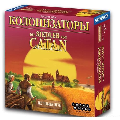 Настольная игра Hobby World Колонизаторы (3-е русское издание)