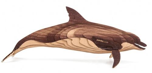 3D пазл PANDAPUZZLE Дельфин (АВ 1604)