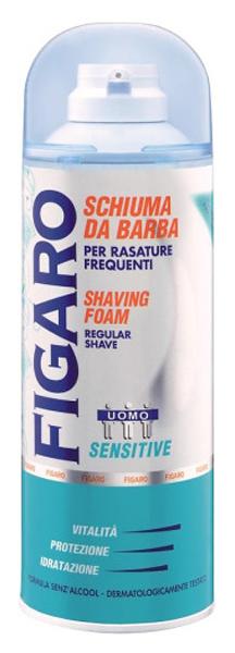 Пена для бритья Figaro Sensitive для чувствительной