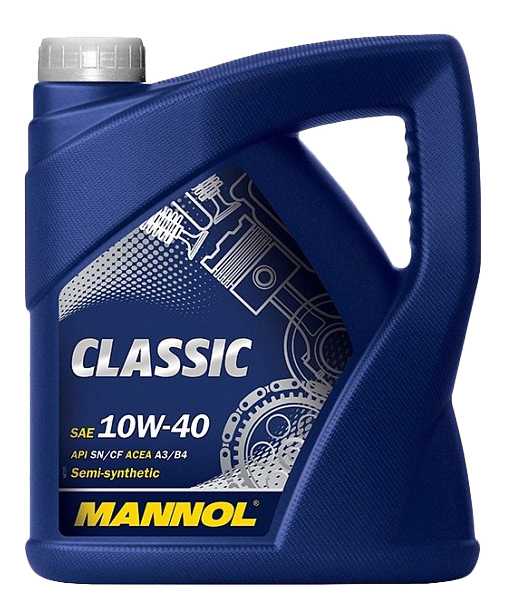 Моторное масло Mannol Classic SNCF 10W-40 4л