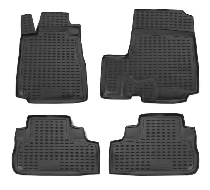 Комплект ковриков в салон автомобиля Autofamily для Honda (NLC.18.15.210k)