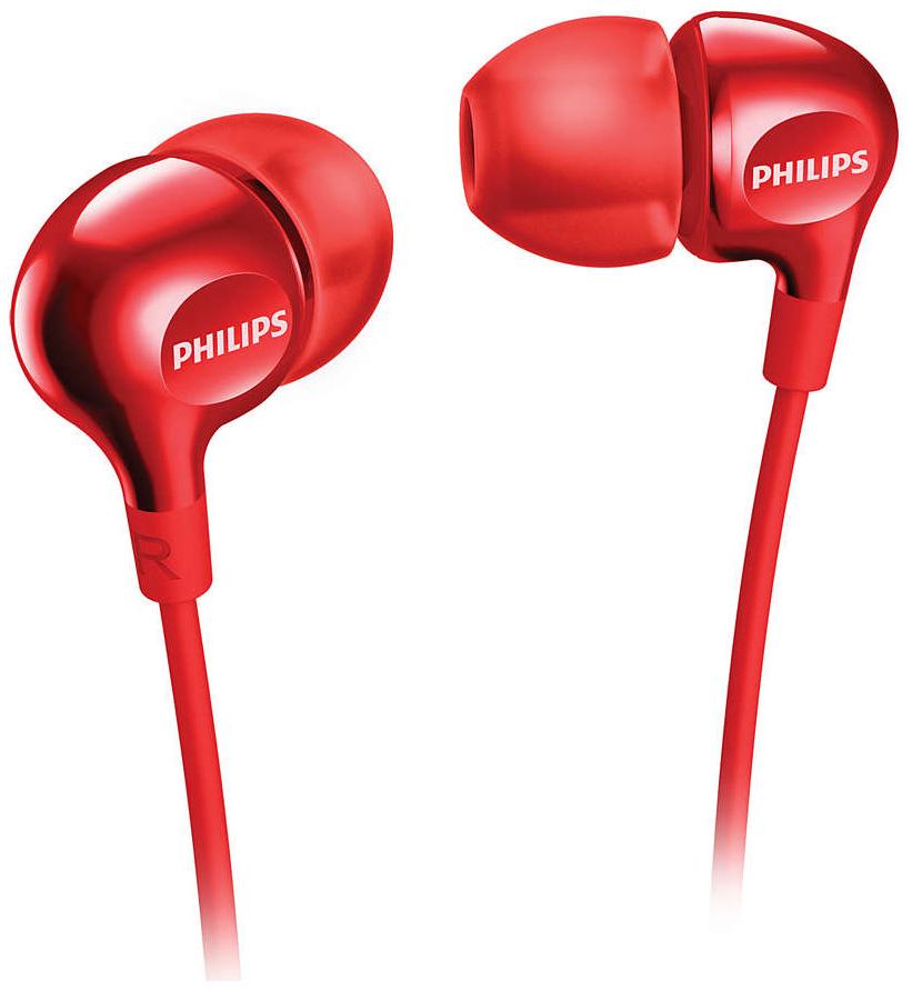 Наушники Philips SHE3705RD/00 Red  - купить со скидкой
