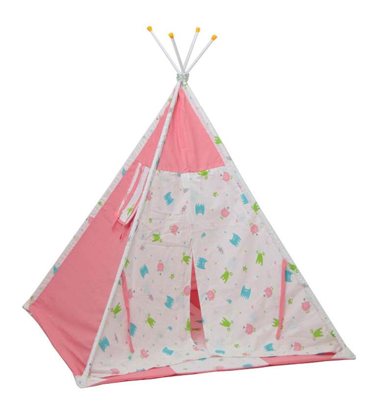Игровая палатка Polini Монстрики, розовый