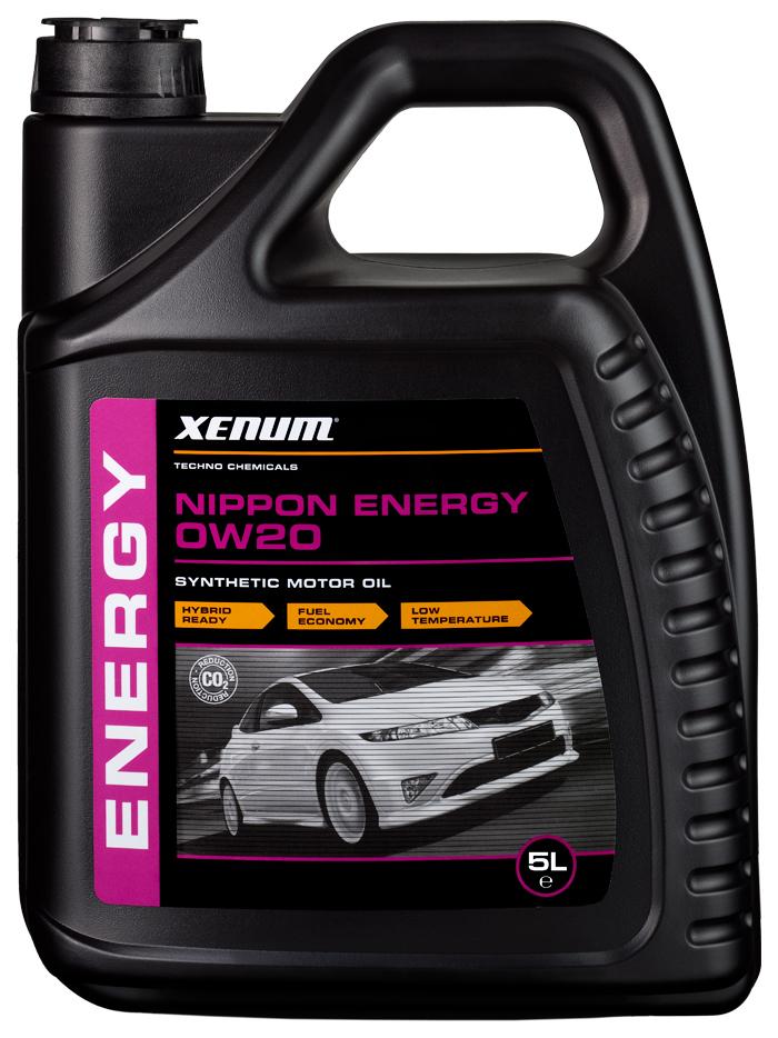 Моторное масло Xenum Nippon Energy 0W-20 5л фото