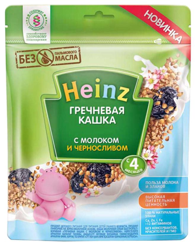 Каша молочная Heinz Гречневая с черносливом