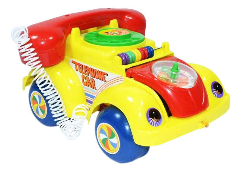 Интерактивная развивающая игрушка Shantou Gepai Машинка на веревочке 705 фото