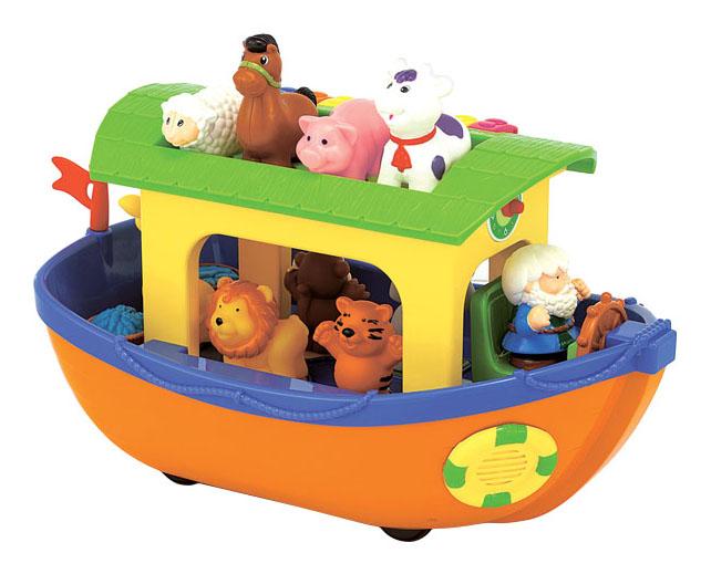Развивающая игрушка Kiddieland Ноев ковчег на русском языке фото
