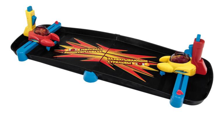Купить Семейная настольная игра 1Toy Захватывающие стрельбы, 1 TOY, Семейные настольные игры