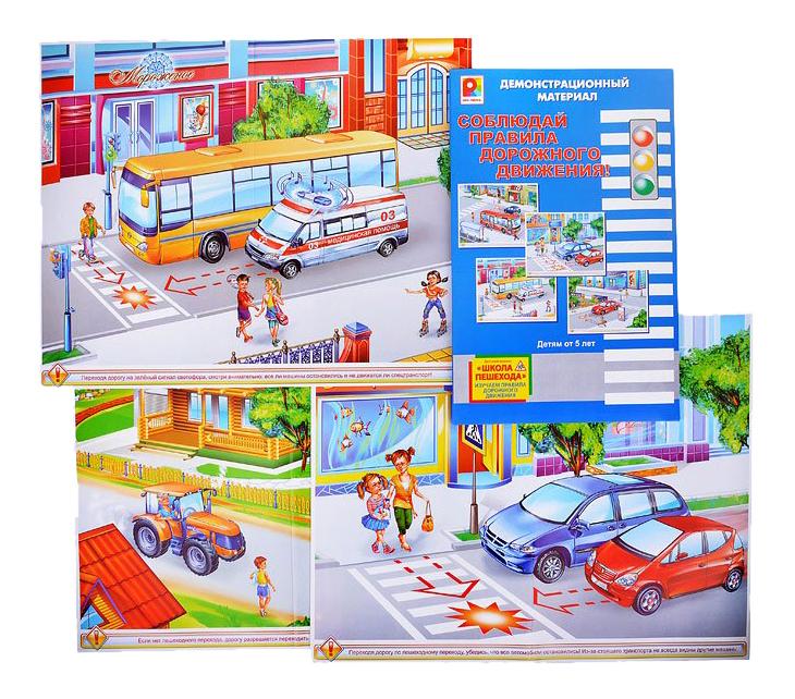 Развивающая игра Соблюдай правила дорожного движения Ферма, Профессии (2в1) Радуга С-731 фото