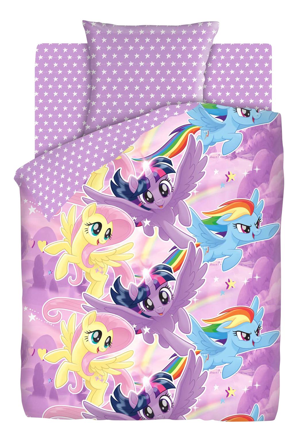 Комплект детского постельного белья Непоседа 1,5 бязь My Little Pony Небесные пони