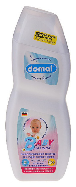 Гель для стирки Domal baby fashion 750 мл