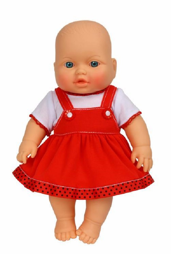 Кукла Весна Малышка в сарафане девочка 30 см