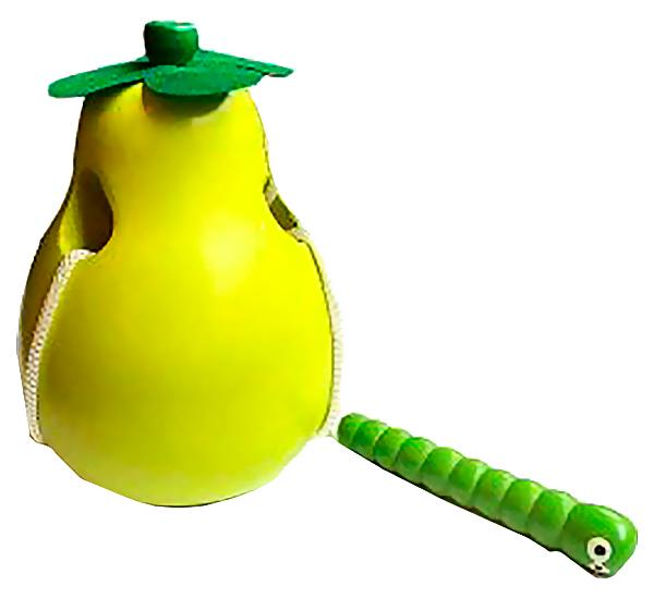 Купить Развивающая игрушка Mapacha Деревянная шнуровка Груша 9, 5 см 76618, Развивающие игрушки
