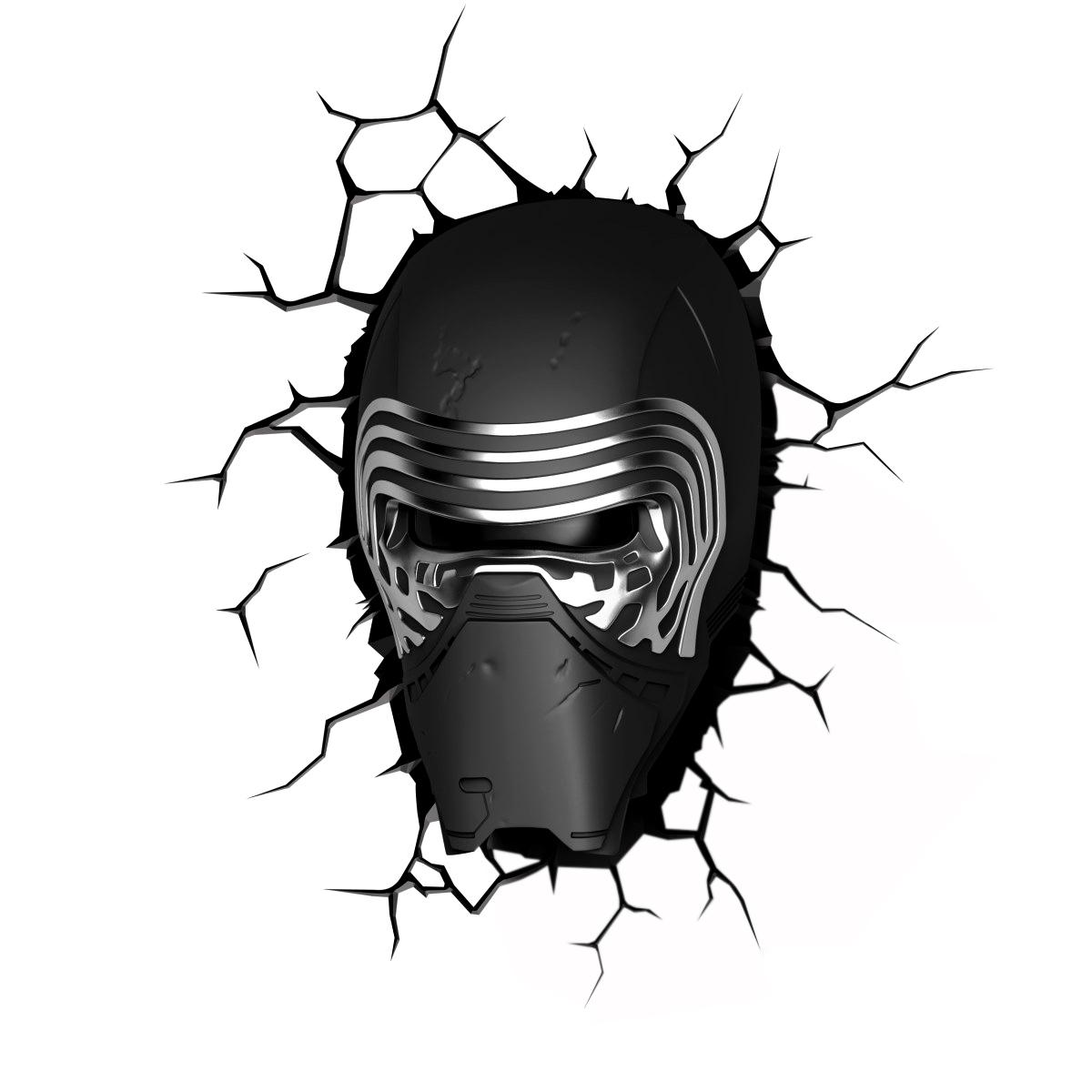 Светильник насенный 3DLightFX Star Wars Кайло Рен 50024