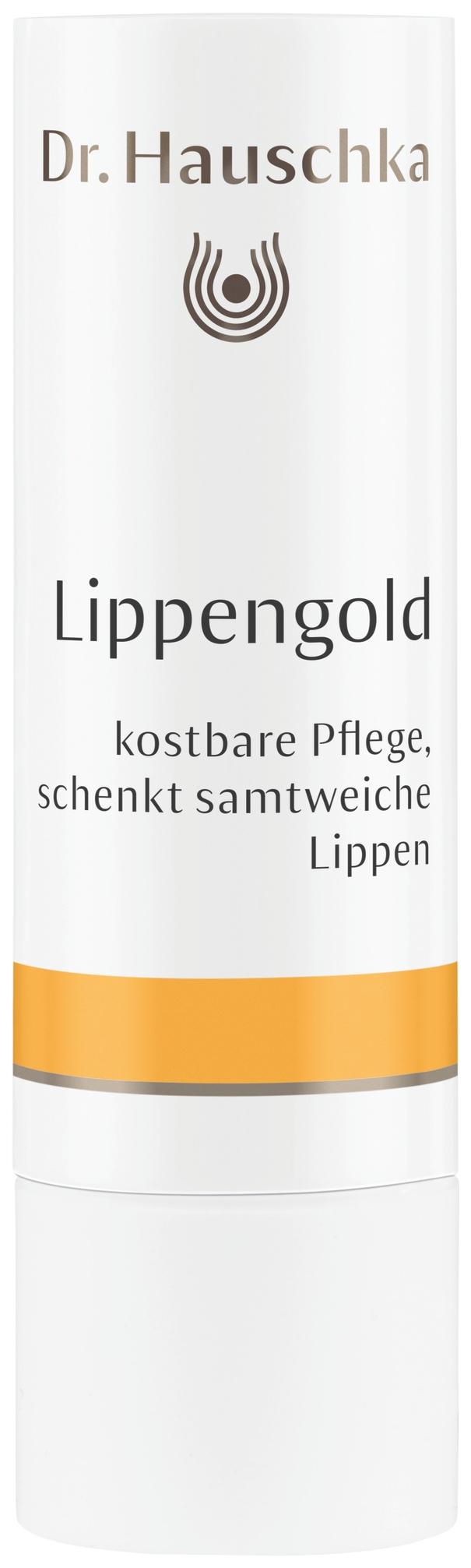Гигиеническая помада Dr. Hauschka Lippengold 4,9 г